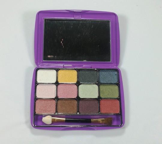 Selusin warna Mirabella Rainbow Eye Shadow Kit II