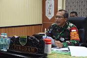 Pangdam XVIII Kasuari Buka Pembekalan Kepada 120 Satuan BKO Kodim Persiapan Di Sorong