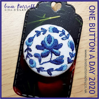 One Button a Day 2020 by Gina Barrett - Day 58: Minnie