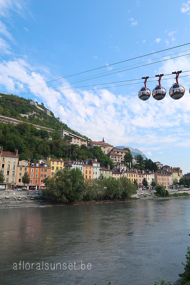 Coronatrip 2020: Grenoble - a floral sunset