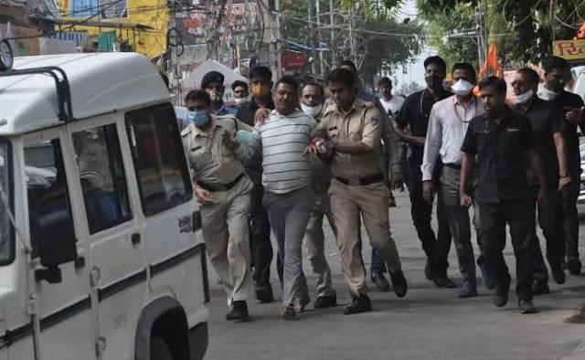 विकास दुबे की गिरफ्तारी पर भड़के अखिलेश, योगी सरकार से की यह मांग