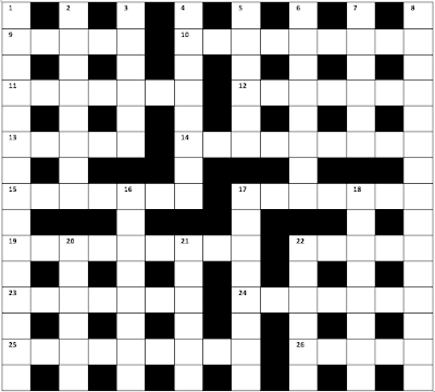 THE HINDU CROSSWORD CORNER: 2019