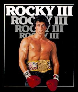 cartel de Rocky III (1982)