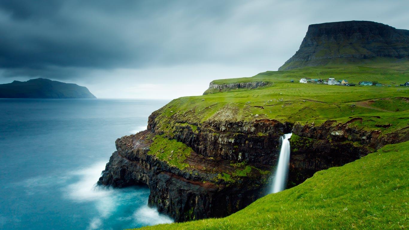 Island Dänemark
