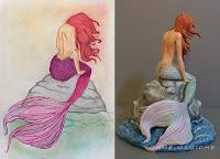 trasformo il tuo disegno in un modellino statuette personalizzate realizzate a mano o orme magiche