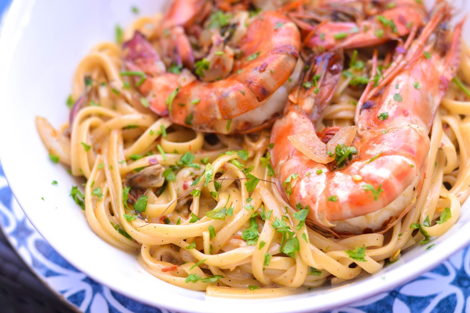 Seafood Linguine at HSE Cafe Lekki