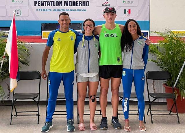 Brasileiros do pentatlo moderno classificados para os Jogos Pan-Americanos Junior 2021