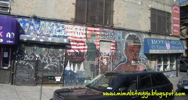 Graffiti a Amadou Diallo, Bronx
