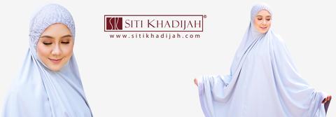 Rezeki Ramadan Dapat Hadiah Telekung Siti Khadijah