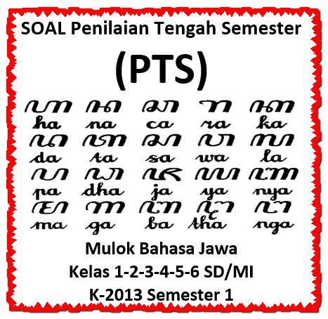 Doawnload Soal PTS MULOK Bahasa Jawa Kelas 1 - 6 SD/MI Semester 1 Edisi 2020