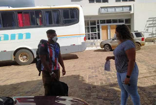 Covid-19 em passageiros de ônibus