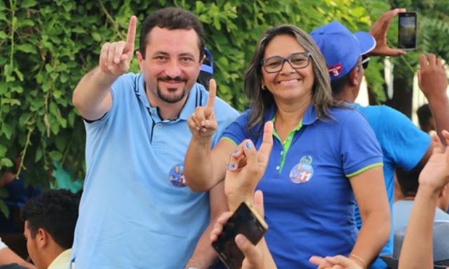Resultado de imagem para Prefeita: Maria Olimpia Ferreira Nunes Eufrásio Vice-Prefeito: Marcio Harlan Maia de Aquino