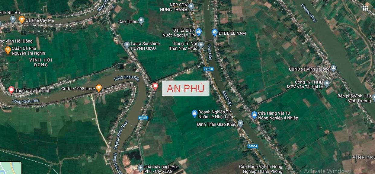 Bảng giá đất huyện An Phú An Giang 2020 - 2024