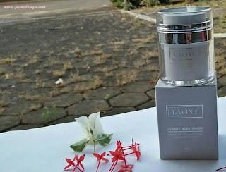 lavine cosmetics gel moisturiser