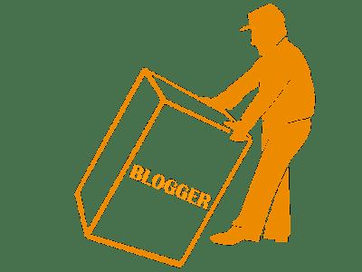 redirect blogger