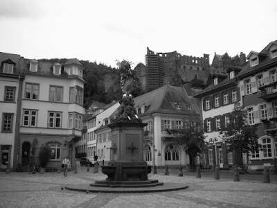 منظر من هيدلبيرج في ألمانيا