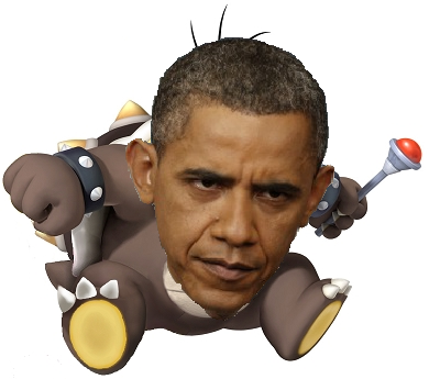 If Barack Obama had a son, he'd look like Morton Koopa Jr.