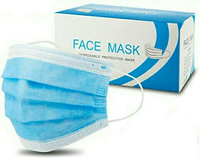 Vifycim Safety Breathable Facemasks - 3Ply Protective Anti-Dust Face Masks