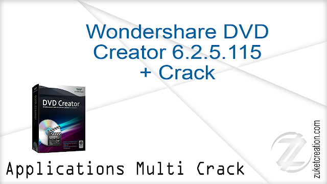Wondershare DVD Creator 6.2.5.115 + Crack