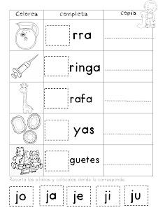 Mi cuadernillo de sílabas