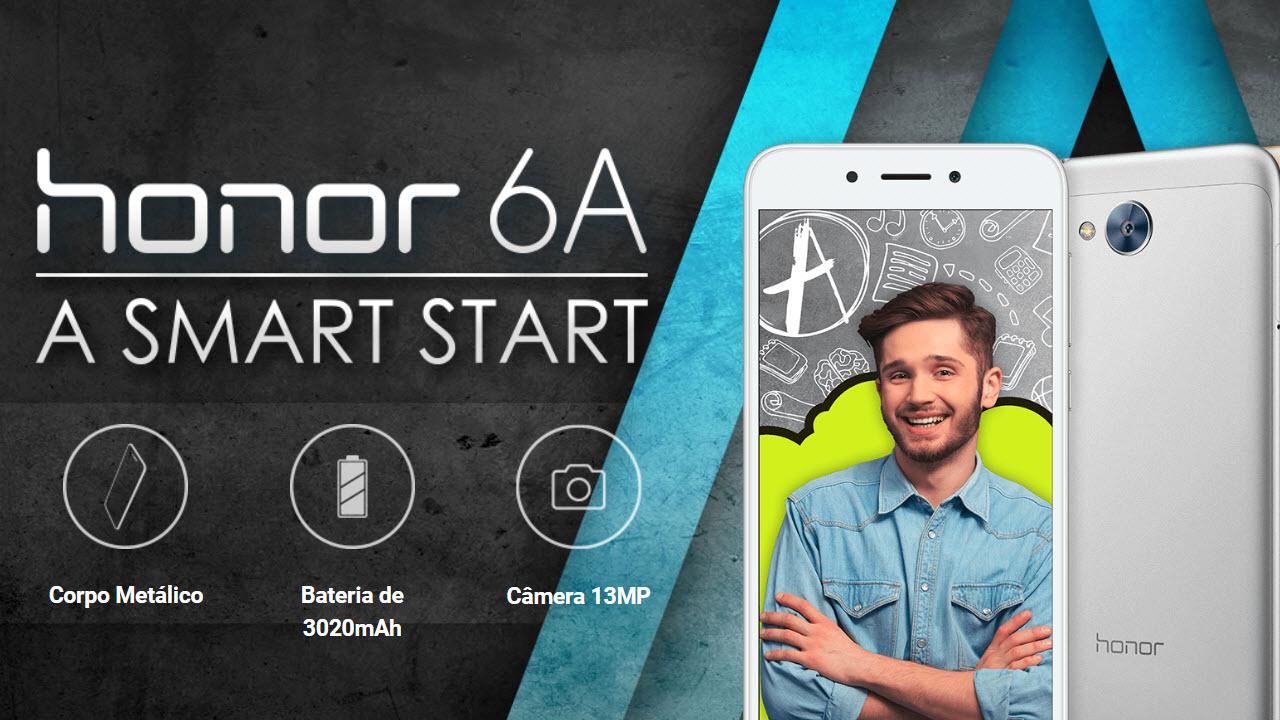 Honor 6A - um smartphone