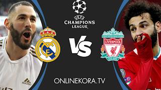 مشاهدة مباراة ريال مدريد وليفربول القادمة بث مباشر اليوم 14-04-2021 في دوري أبطال أوروبا