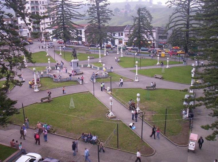 Parque de las Araucarias (Plaza de Bolívar)