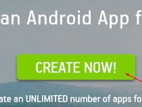 Cara Mudah Membuat Web/Blog Menjadi Aplikasi Android (apk) Tanpa Coding