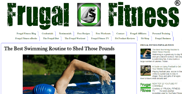 frugal fitness blog guest blogger post sponsored content