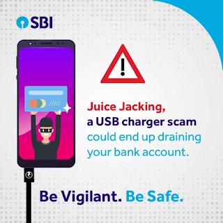 SBI Alert - Don't Charge Mobile Else Account Will Empty | मोबाइल चार्जिंग से भी खाली हो सकता है खाता!