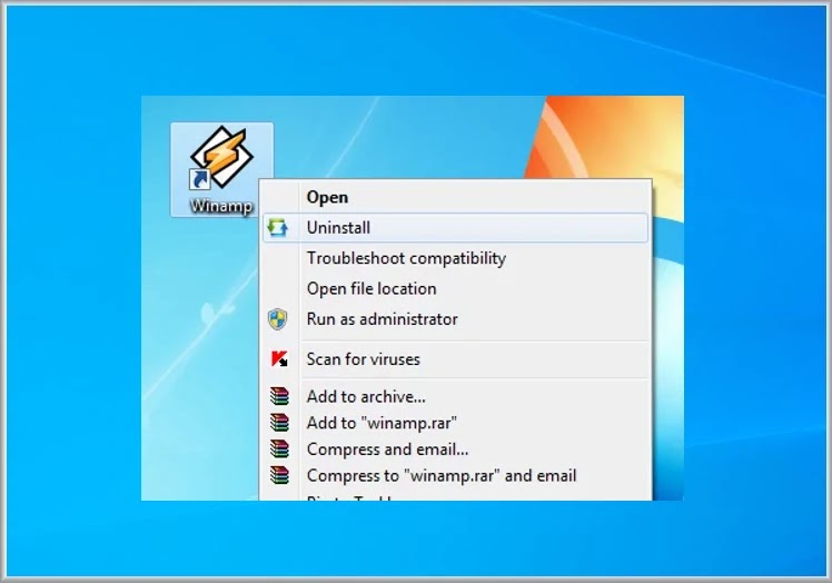LightSpeed Uninstaller :    Απεγκαταστήστε εύκολα προγράμματα από το εικονίδιο συντόμευσης τους