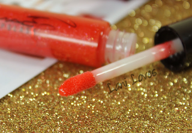 MAC Viva Glam Miley Cyrus 2 Lipglass Swatches & Review
