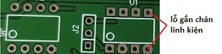 PCB xuyên lỗ