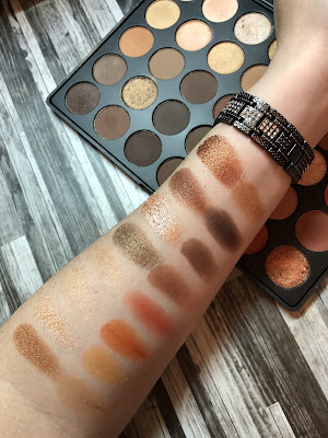 Morphe 35O Review and Swatches