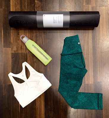 lululemon wunder-under-green spray-jacquard