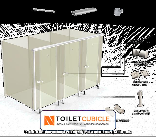 toilet cubicle sekolah Pekalongan