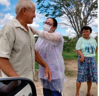 Municípios paraibanos usam a criatividade para evitar aglomerações durante vacinação contra a Influenza