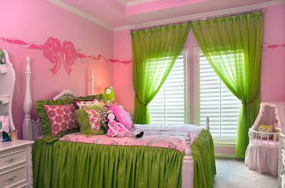 5 Warna Gorden yang Cocok untuk Dinding Pink