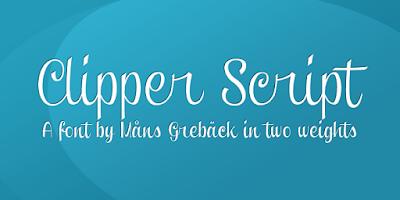 Clipper Script Font