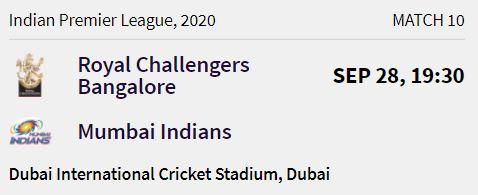 Mumbai Indians match 3 ipl 2020