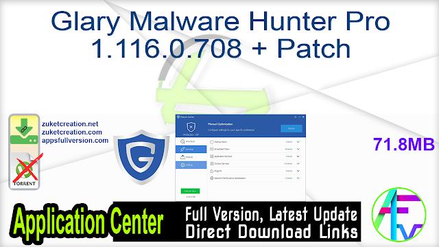 Glary Malware Hunter Pro 1.116.0.708 + Patch