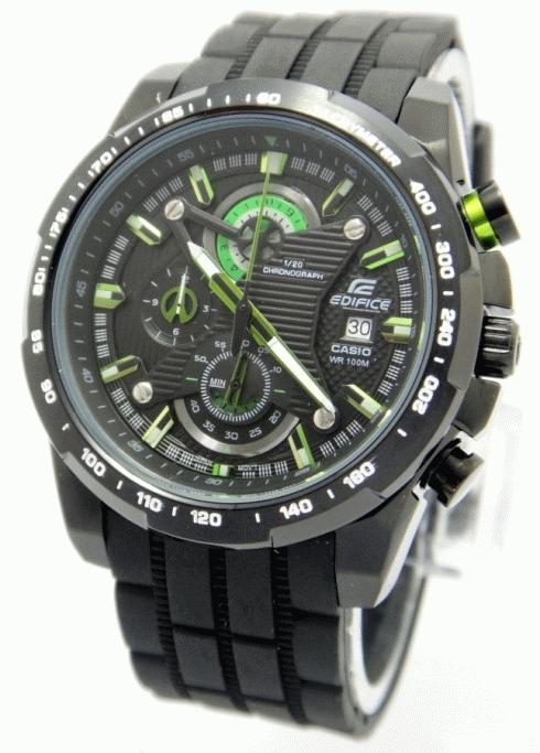 Jual Jam Tangan Casio Edifice EF 523 Green-Black cc25cec311