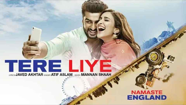 तेरे लिए Tere Liye lyrics in Hindi - Atif Aslam