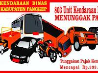 Ratusan Kendaraan Dinas Pemkab Pangkep Menunggak Pajak Kendaraan Rp.300 Jutaan