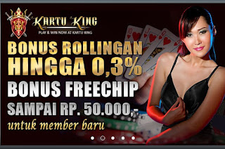 FREEBET TERBARU | FREECHIP 50.000 | KARTUKING.COM