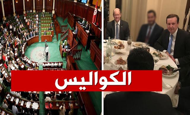 وفد الكونغرس الأمريكي يلتقي بـ 4 نواب من البرلمان المجمّد