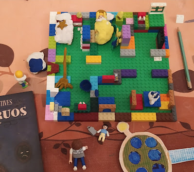 Imagen montaje en Lego
