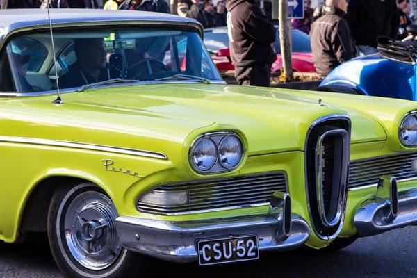 jenkkiauto keltainen auto kokoontumisajo kesän tapahtumat 2015