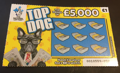 £1 Top Dog Scratch Card