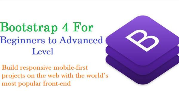 كورس تعلم Bootstrap 4 للمبتدئين
